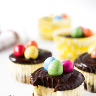 Mini Chocolate Easter Cheesecakes Recipe