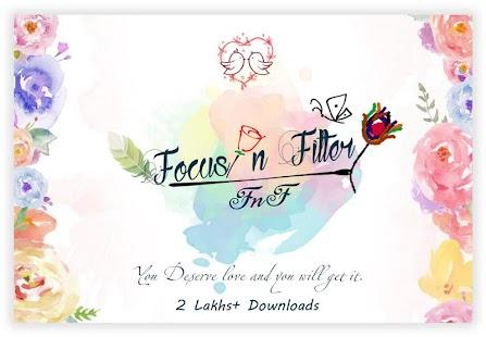 FnF - Focus n Filters Name Art - náhled