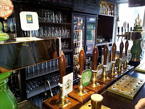 Photo: Our group loved the wide range of cask and bottled beers at Manchester's Port Street Beer House.