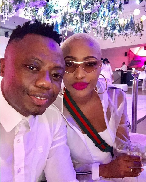 DJ Tira and Gugu.