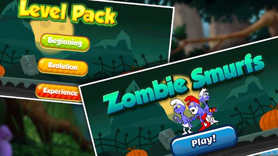 Zombie Smurfs 💀 Trolley - AppRecs