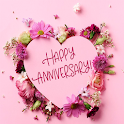 Wedding Anniversary Photo Images Message Wishes icon