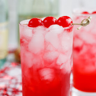 Shirley Temple Champagne.