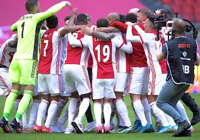 🎥 L'Ajax a redistribué son trophée à ses abonnés en le faisant fondre !