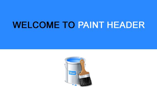 Paint Header