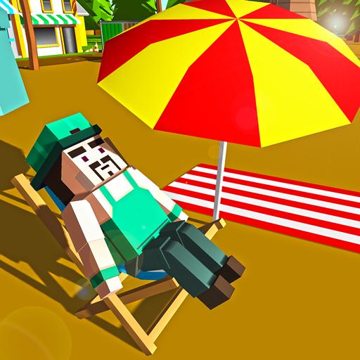 Paradise Island Craft : Build, Construct & Fishing (game)