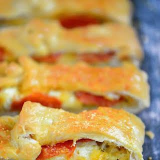 Easy Pepperoni Stromboli.