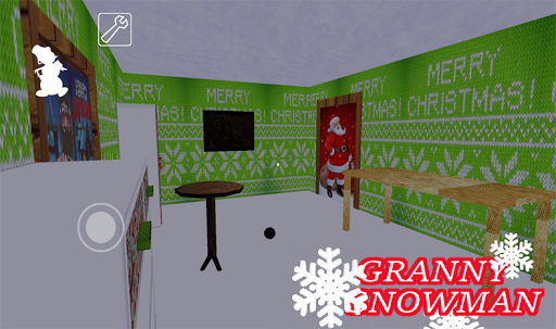 Scary Granny is Snowman - Horror Game Mod 2020 Screenshot