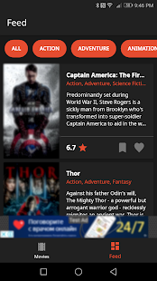 Moviex - Smart movie recommendations Screenshot