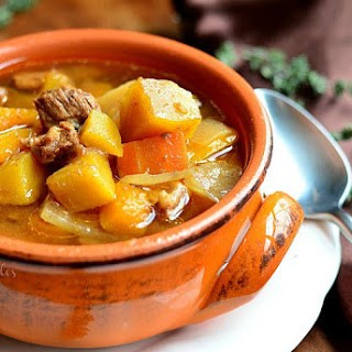 Slow Cooker Winter Squash Beef Stew