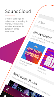 SoundCloud - música e áudio Screenshot