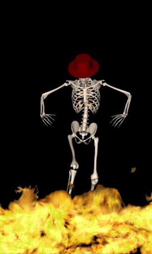 Dancing Skeleton Live Wallpaper  screenshots 3