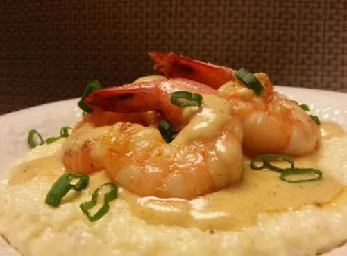 """Mr. Pete's Southern Shrimp & Cheesy Grits """"WOW, this is one of my..."""