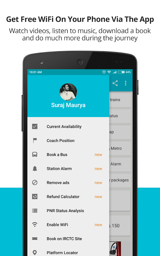 Indian Rail Train Pnr Status Android Apps On Google Play