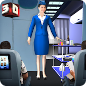 Airport Staff Flight Attendant Air Hostess Games Android APK Download Free By Games Stop Studio