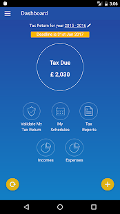 GoSimple HMRC Tax Calculator - náhled