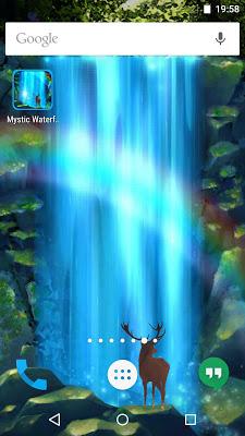 MysticWaterfall Live Wallpaper - screenshot