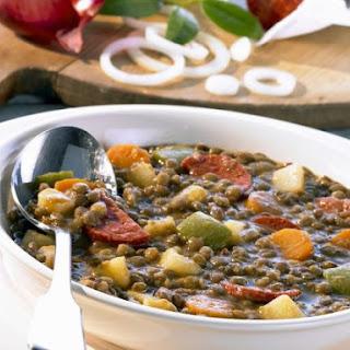 Iberian Lentil Casserole