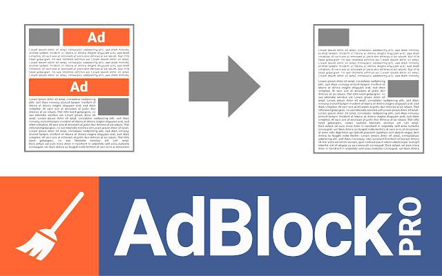 Adblock Pro chrome extension
