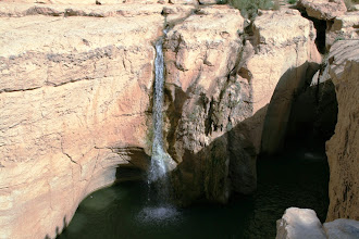 Photo: Gran cascada en el oasis de Tamerza
