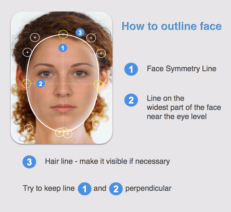 Face Shape Meter Demo- screenshot