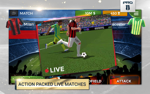 Pro 11 - Soccer Manager Game apkmr screenshots 6