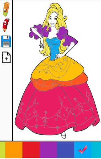 Miss Barbie Princess Color Book Apk By Pixel Art Apps