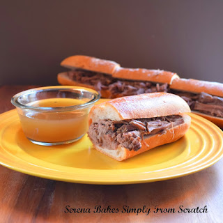 Spicy Crock Pot French Dips.