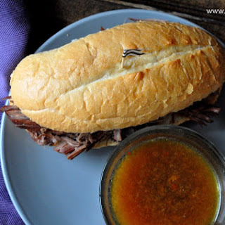 Easy Slow-Cooker French Dip