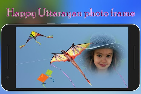 Happy Uttarayan Photo Frame - náhled