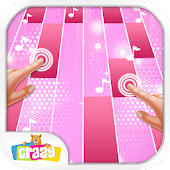 Magic with Pink Piano Tiles : Music Tiles