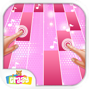 Magic with Pink Piano Tiles : Music Game