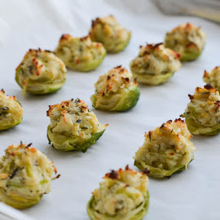 RICOTTA & HERB STUFFED BRUSSELS SPROUTS