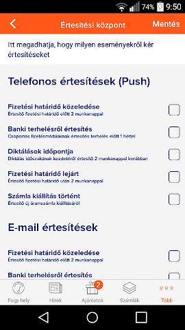 android EDF DÉMÁSZ Ügyfélszolgálat Screenshot 4