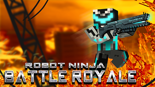 robot ninja battle royale screenshot 1