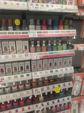 Photo: Ah yes, the wall of Sally Hansen products!