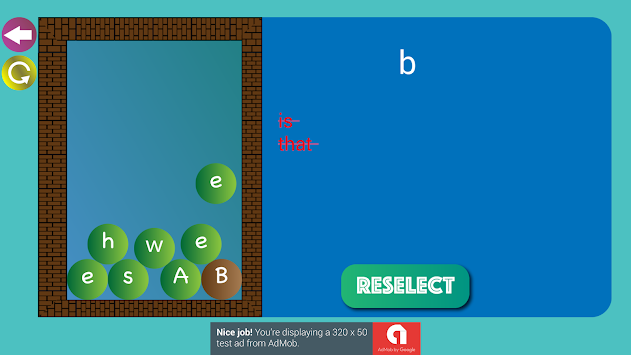Game English Word Memory apk screenshot