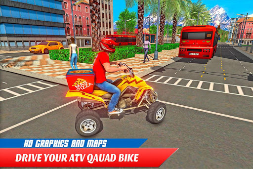 ATV Pizza Delivery Boy  screenshots 16