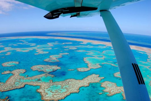 Splurge on a Scenic Flight of the Islands