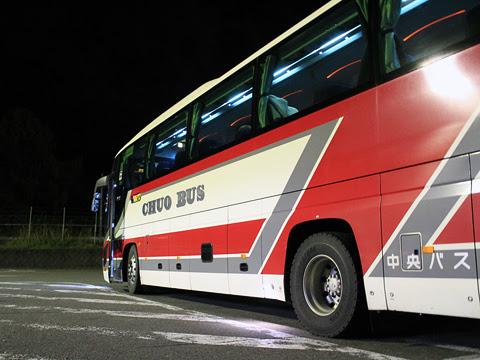道南バス「高速はこだて号」 3946 有珠山サービスエリアにて その2