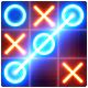 Tic Tac Toe glow - Free Puzzle Game