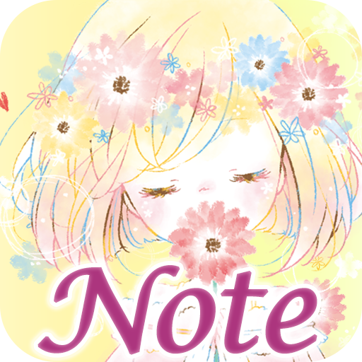 Simple Notepad Flowery Kiss (app)