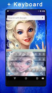 The Snow Queen Keyboard Lock Screen 3