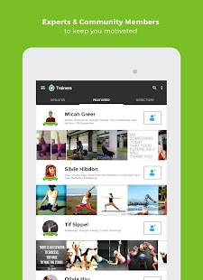Workout Trainer: fitness coach- screenshot thumbnail