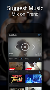 InstaMusic(Free & Music Video) screenshot