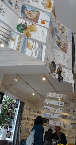 expo carnet de voyage aquarelle _ Jeanne PAPA_aigle noir FONTAINEBLEAU