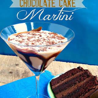 Chocolate Cake Martini.