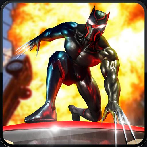 Super Hero Street Wars: Battle City Fatal Fight