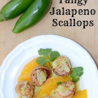 Tangy Jalapeno Scallops