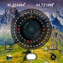 Compass 54. All In One (GPS, Weather, Map, Camera) icon